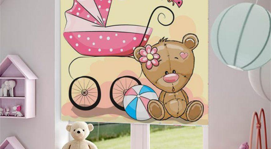 شید اتاق کودک دارای طرح های کارتونی و زیبا