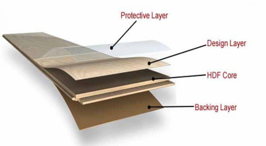 لایه های تشکیل دهنده پارکت لمینت