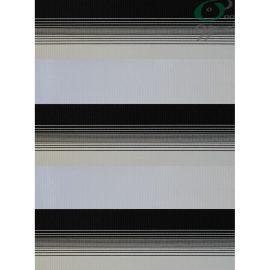 مشخصات و قیمت پرده 104-5016 - طرح پرده زبرا ساده سفید مشکی