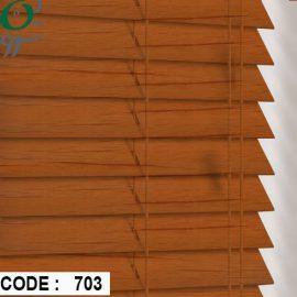 کرکره چوبی رنگ کرم