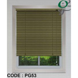 کرکره فلزی براش سبز کم رنگ کد PG 53