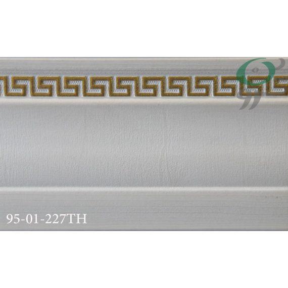 قرنیز پی وی سی ورساچه سفید 227-01-95
