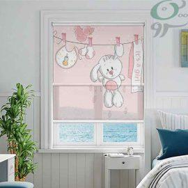 کد محصول : دبل شید تصویری طرح خرگوش دخترانه DO-A972