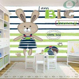 کاغذ دیواری پوستری طرح خرگوش PO-A1159