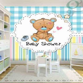 پوستر کاغذ دیواری کودک طرح خرس PO-A929