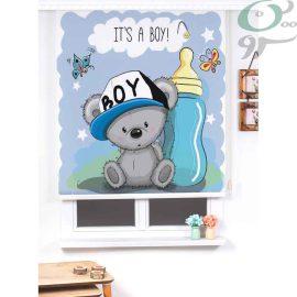 شید رول پسرانه خرس و شیشه شیر کد 925