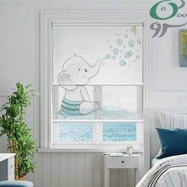 پرده شب و روز مدل بچه فیل کودک DO-A1109