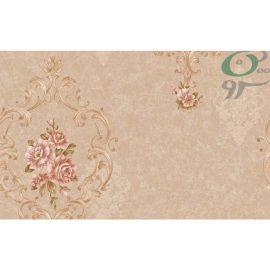 کاغذ دیواری کرم رنگ کلاسیک z7915