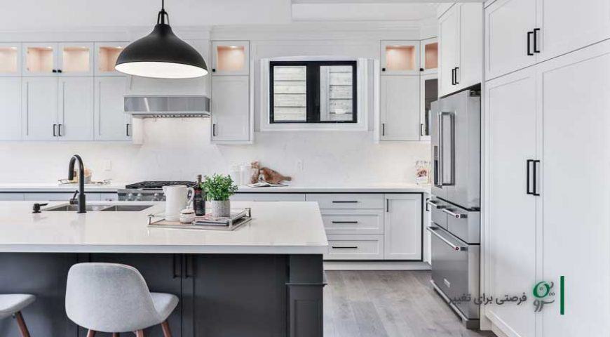 ایده هایی برای تزیین آشپزخانه (بخش دوم – آشپزخانه های مدرن و امروزی)