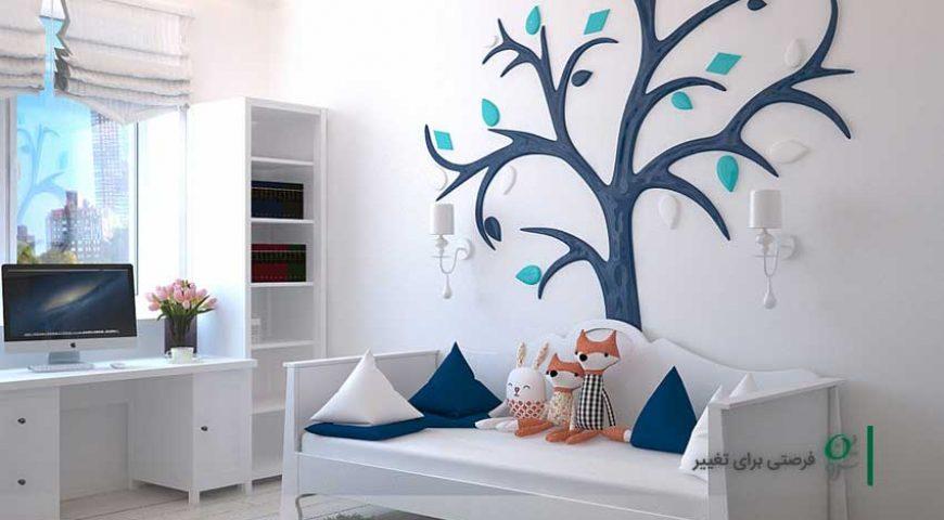تزیین اتاق کودک با دو رویکرد شخصیت پردازی و رنگ آمیزی خلاقانه و هدفمند!
