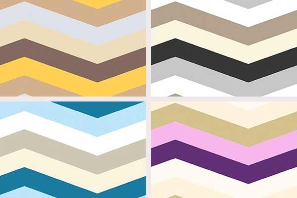 کاغذ دیواری طرح موج رنگی اسپرت