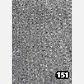 شید سان اسکرین گل داماسک قهوه ای 151