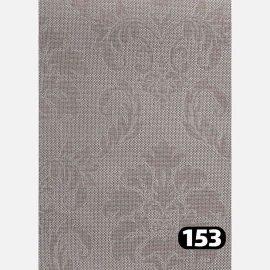 شید سان اسکرین گل داماسک قهوه ای 153