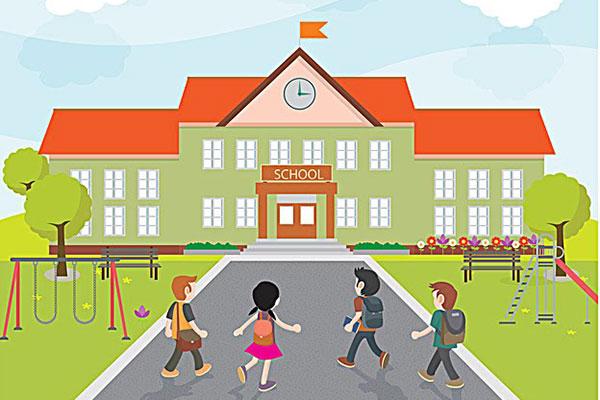پرده برای تجهیز کردن مدارس